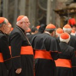 VATICAN-CARDINALS-PRAYER