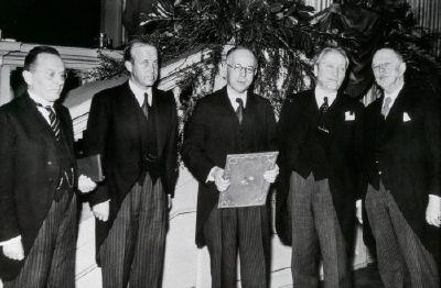 Ruzicka- Nobelpreisverleihung 1940-horizontalno