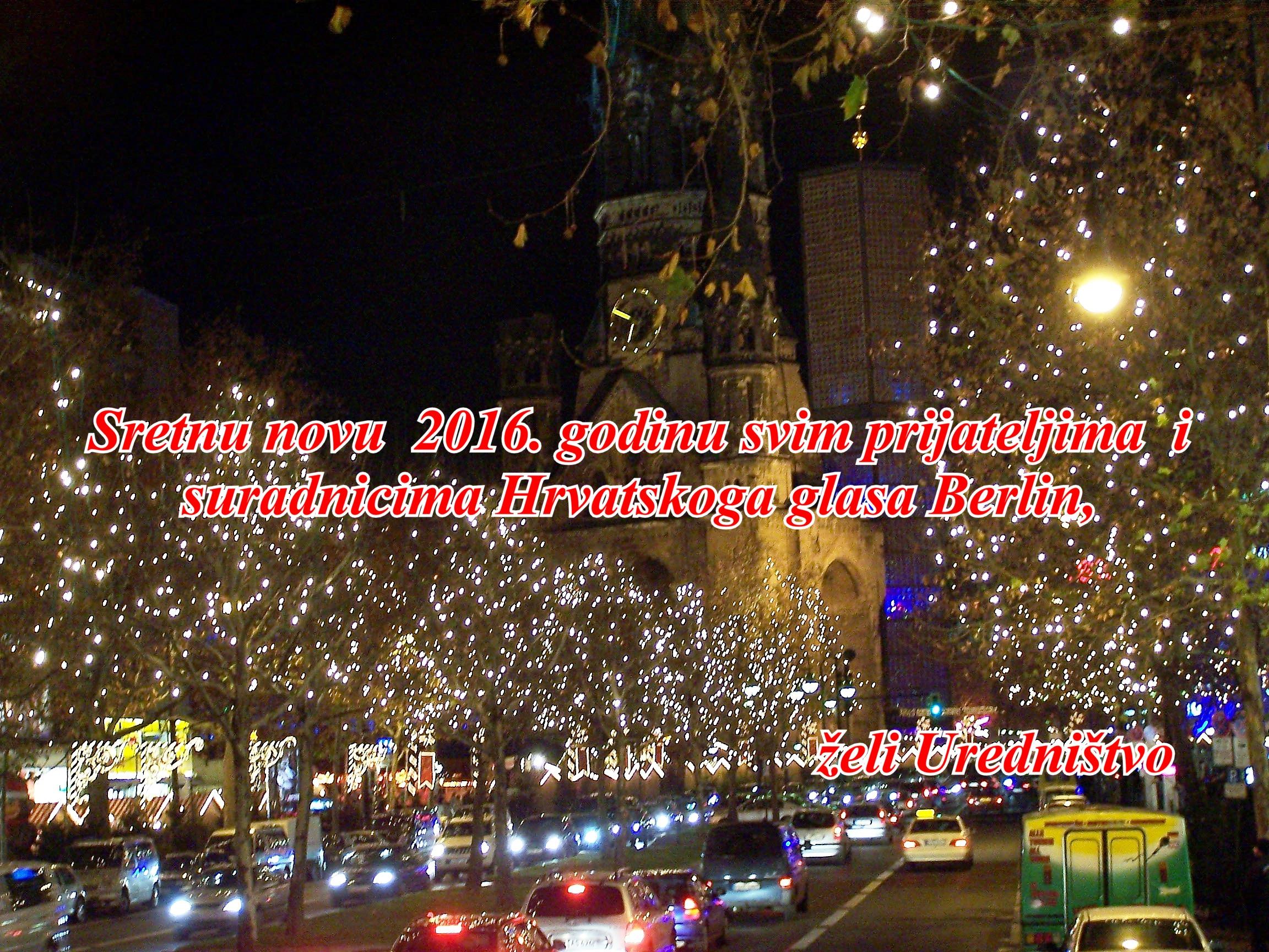 božićme čestitke Hrvatski Glas Berlin » 2015 » Dezember božićme čestitke