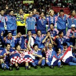 Croatia celebrate 3rd place