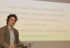 Zagreb,24.5.2016 - Boris Jokiæ održao je predavanje na temu kurikularne reforme na Skupštini njemaèko-hrvatske industrijske i trgovaèke komore.Foto:HinaTomislav Pavlektp